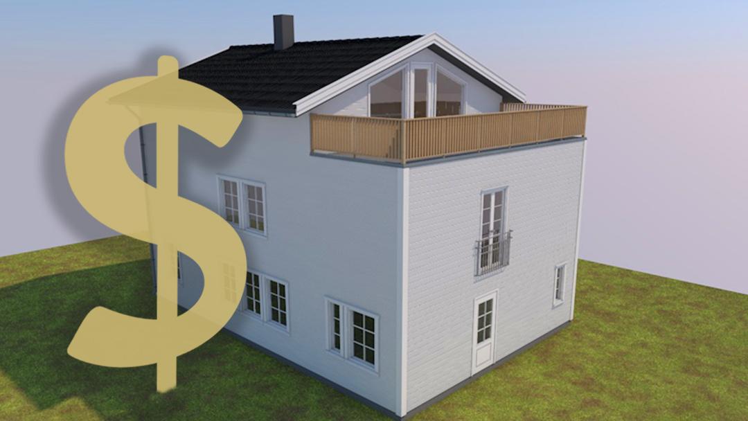 Ulike typer arkitekttjenester har ulike priser og dette kan variere med antall type tegninger.