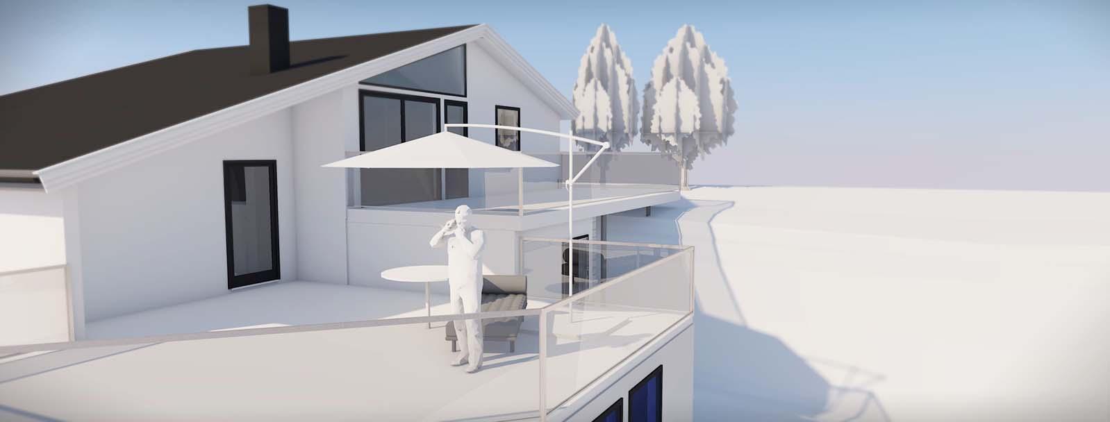 Vil du lage et tilbygg? Vi hjelpe deg med byggsøknaden og tegninger til byggesøknaden.